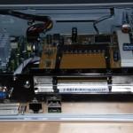 RICOH PCMCIA PCI addon card for the GRML Hackbox shown in slot